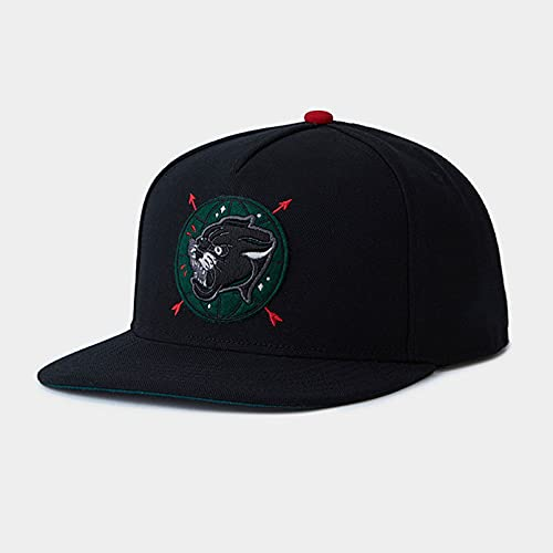 YIERJIU Gorra Gorras Beisbol The World Cap Black Panther Hip Hop Snapback Hat para Hombres, Mujeres, Adultos, Gorra de béisbol Informal al Aire Libre,DC