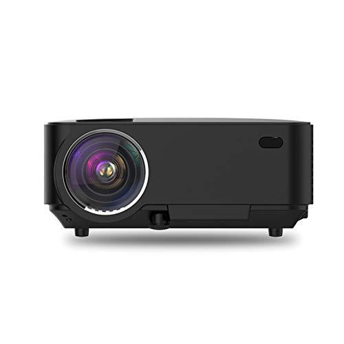 Gycdwjh Proyector,Proyector Portátil Soporte Full HD 1080p Mini Proyector para Cine en Casa para Viajes al Aire Libre Juegos