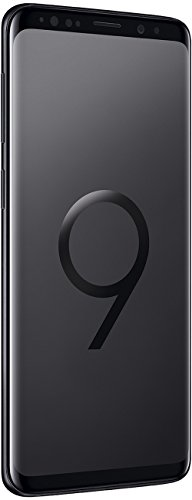 Samsung Galaxy S9 Smartphone (5,8 Zoll Touch-Display, 64GB interner Speicher, Android, Dual Sim) Midgnight Black – Andere Version