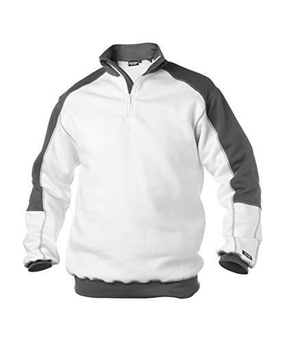 Dassy Unisex-Erwachsener Pantaloni Hose, Bianco, M