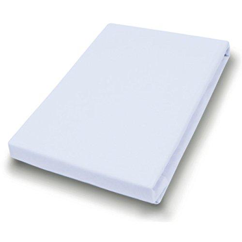 Hahn huistextiel jersey-laken voor matrastopper 140-160x200-220 cm lichtgrijs