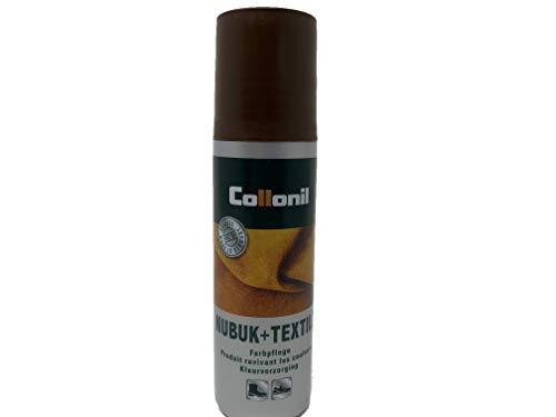 Collonil Nubuk + Textile Schuhpflege dunkelbraun, 100 ml