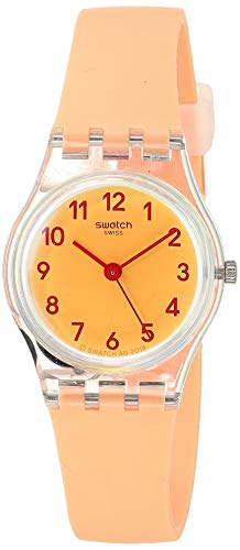 Montre Dame Swatch Casual Pink Silicone