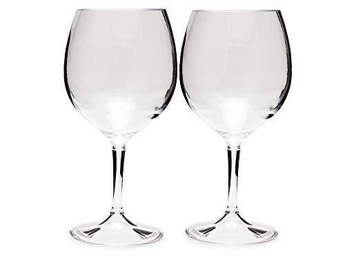 GSI Outdoors Nesting Red Wine Glass Set de verres unisexe pour adulte Taille unique