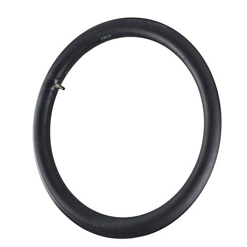 2.75/3.00-21 Inner Tube Fit Off Road Motorcycle with 21'' Tires, 80/100-21 Inner Tube Replacement with TR4 Straight Valve Stem (Fit: 90/80-21, 90/90-21, 80/100-21)