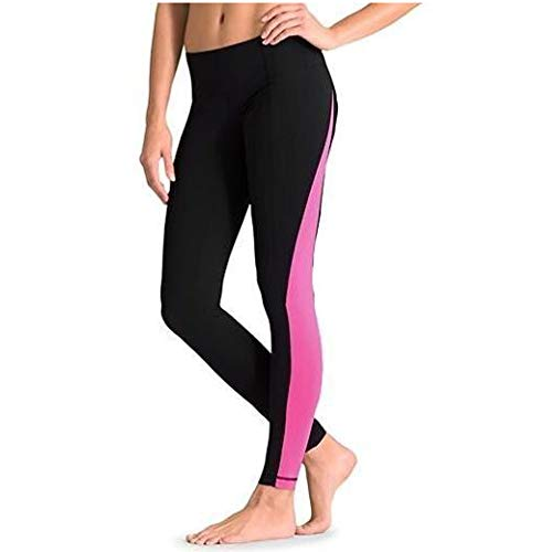 king sun exercise Women's Surfing Leggings Swimming Sport Tights UPF 50+Yoga Pants Surfing Pants Floating(X-Small, BlackRed