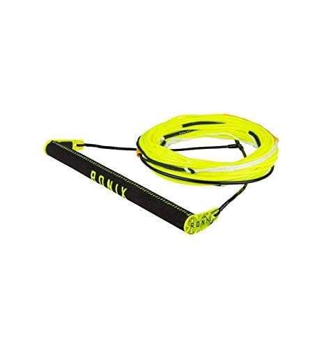 Ronix Combo 6.0 Nylon BarLock Hide Grip Wakeboard Handle w/ R6 Rope - Asst. Color