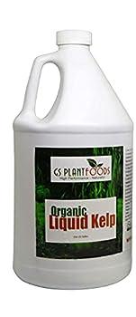 Seaweed Fertilizer - Omri Organic Liquid Fertilizer for Seedlings  1 Gallon  - Liquid Kelp & Vegetable Growth Concentrate for Gardens Lawns & Soil