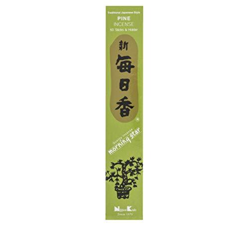 nippon kodo Morning Star Pino Incienso Japonés, Multicolor, Talla única