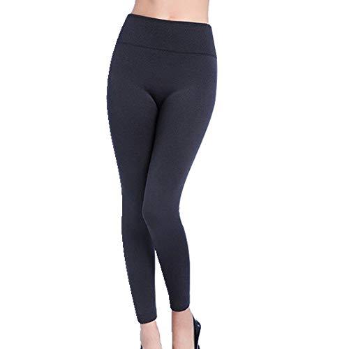 N\P El otoño y el invierno cálidos pantalones de primavera de cintura alta legging liso ensalada de las mujeres pantalones de las mujeres de primavera polainas
