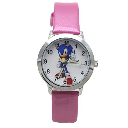 Reloj de dibujos animados Recién llegado Super Mario Children Cute Kids Watch Deportes para niñas Niños Regalo Relojes de pulsera de cuero para niños