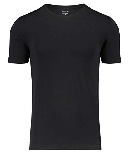 OLYMP Level Five Herren Unterhemd Kurzarm schwarz (15) S