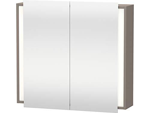 Duravit Spiegelschrank Ketho 180x800x750mm 2 Spiegeltüren, basalt matt, KT753104343