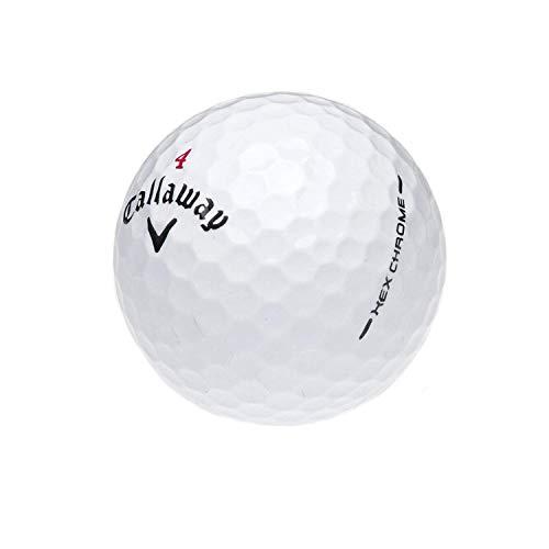 Callaway HEX Golfbälle, Chrom-Mix, AAAA