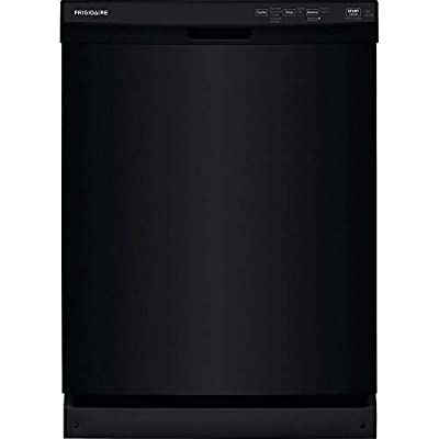 Frigidaire FFCD2418UB 24 Inch Built In Full Console Dishwasher with 5 Wash Cycles, 14 Place Settings, in Black