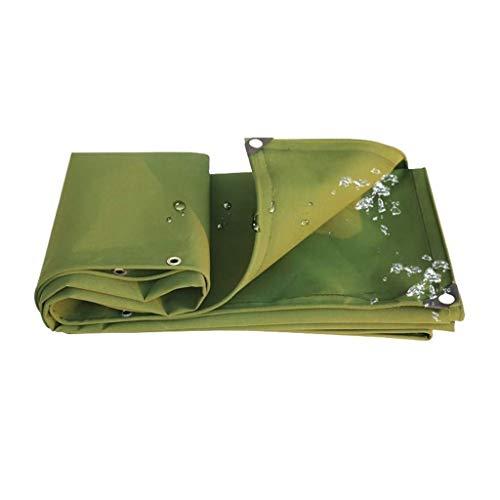 KAISIMYS Lona Impermeable Lona Verde a Prueba de Polvo Carport Canopy Techo Carpa a Prueba de Lluvia La Carpa de Camping se Puede Personalizar (tamaño: 2MX3M / 6FT * 9FT) (Tamaño: 3 * 5m)