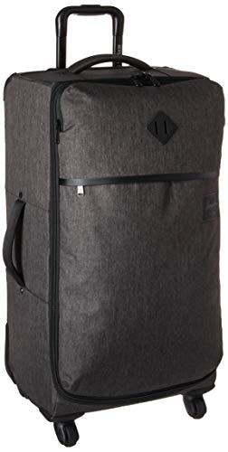 Herschel Highland Softside Checked Medium Luggage, Black Crosshatch, 71L