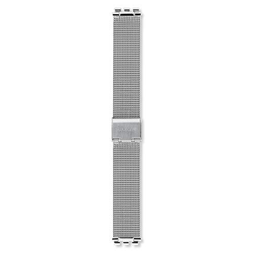 Brazalete acero milanesa Swatch Metal Knit ASFM118M 16mm