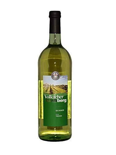 3x 1 Liter GWF Volkacher Kirchberg Silvaner Weißwein Frankenwein trocken