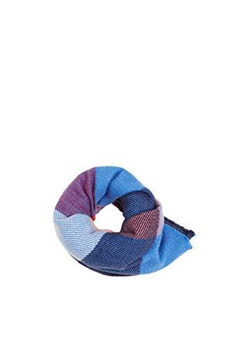 ESPRIT edc by Accessoires Damen 129Ca1Q002 Schal, Blau (Navy 400), One Size (Herstellergröße: 1SIZE)