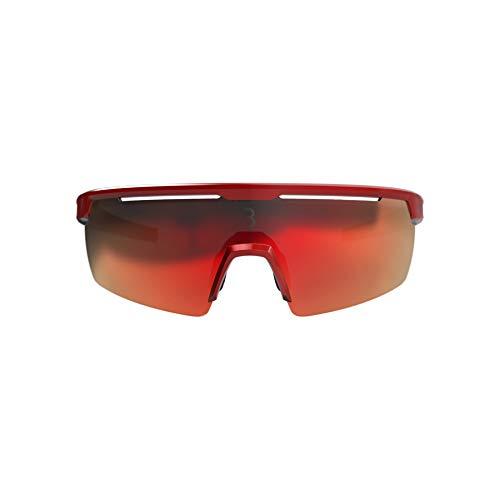 BBB Cycling, BSG-57, mountainbike sportbril Avenger, met wisselglazen, metallic rood, 6,9 x 15,6 x 4,8