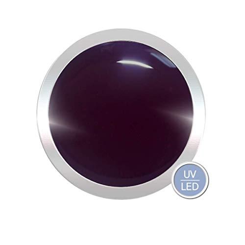 Vernis-gel coloré UV - Qualité supérieure - Couleur aubergine - 5 ml