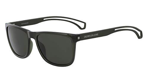 CALVIN KLEIN JEANS EYEWEAR CKJ19503S gafas de sol, verde, 5718 para Hombre