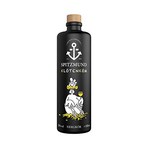 Spitzmund Klötenköm/Eierlikör ohne Milch und ohne Sahne (FREI von Laktose & Gluten). Bereits mehrfach mit der Gold Medaille ausgezeichnet und wurde zum Drinkstarter 2019 gewählt.