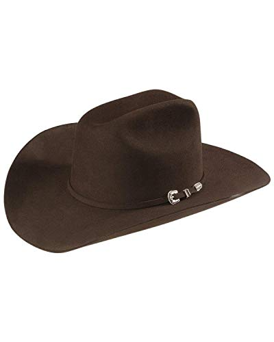 Stetson Men's 6X Skyline Fur Felt Cowboy Hat Black 6 3/4