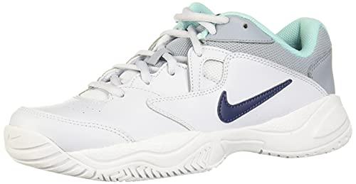 Nike Court Lite Ar8838-004 - Tenis para mujer, azul (Fútbol Gris/Azul Marino Medianoche), 38 EU