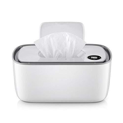 Warmies Tücherwärmer Baby Heizung Haushalt Tragbare Tücher Heizung Box Wischt Wärmer, Haushalt Baby Wischt Wärmer Tragbarer Wischtuchwärmer Wet Wipes Spenderhalter