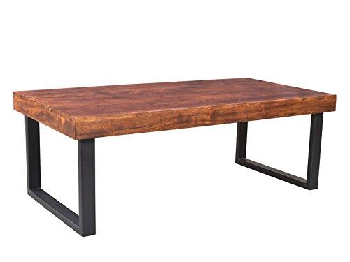 Woodkings® Couchtisch Ettrick 116x57cm, Holz Akazie braun, Echtholz modern, Design, Massivholz Lounge Coffee Table günstig