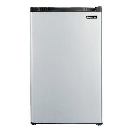Magic Chef MCBR440S2 Refrigerator, 4.4 cu. ft, Stainless Look