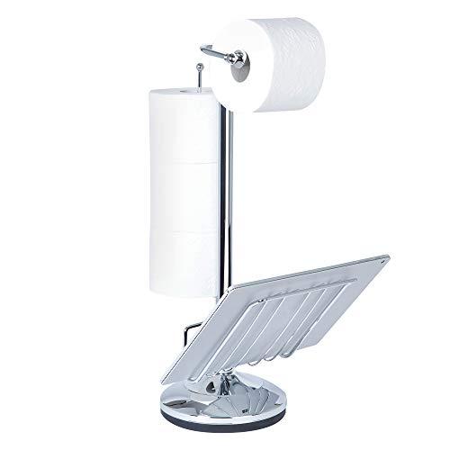 Top 10 best selling list for toilet paper holder magazine rack chrome
