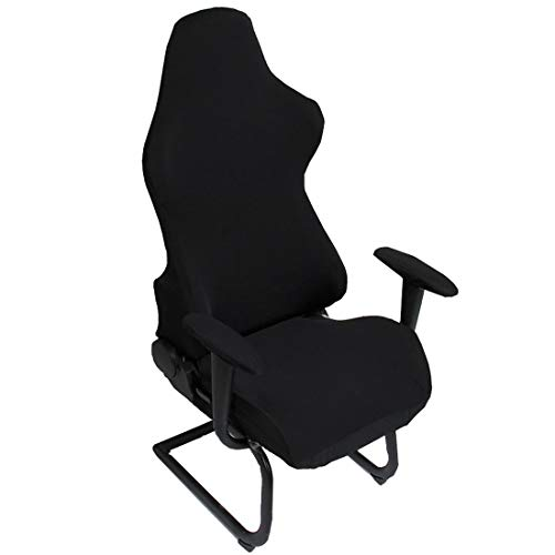Deisy Dee Slipcovers Cloth Stretch Polyester Chair Cover for Reclining Racing Gaming Chair (Only...