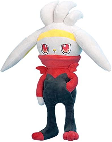 Pokemon Raboot de peluche de juguete 28 cm lindo juguete de felpa decoración de la habitación regalo de cumpleaños muñeco de peluche regalo creativo