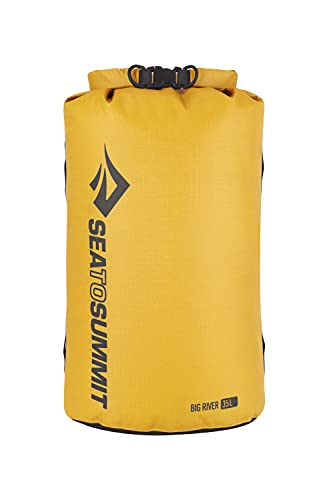 Sea to Summit Big River Dry Bag-35 litros Sac d'alpinisme Mixte, Jaune (Amarillo), 35L