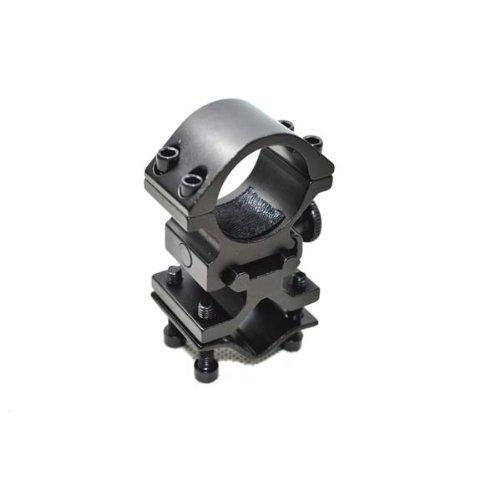 Noga - Montura para láser y linterna con adaptador de barril para montaje en mirilla.