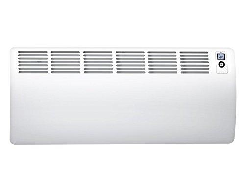 AEG Wandkonvektor WKL 3000 Comfort für ca. 30 m², 3000 W, 5-30 °C, wandhängend, LC-Display, Wochentimer, 120 Min. Kurzzeittimer, Alu, Ökodesign 2018, 238721