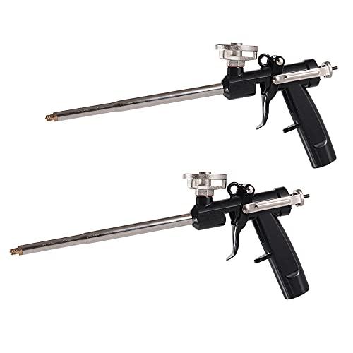 SUQ 2 Piezas Pistola De Espuma De Pulverización, Pistola De Espuma Profesional De Poliuretano Resistente, Herramienta...