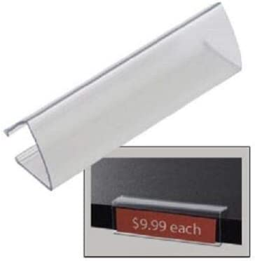 Clear Wood Shelf Tags 20 Acrylic Label Max 73% Low price OFF Holder 7 1 Holds 8