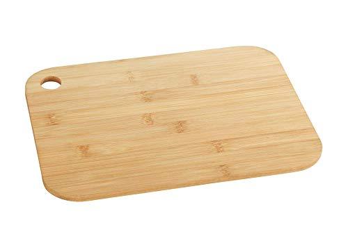 WENKO 53065100 Planche à Découper en Bambou S, Bambou, 23 x 0,8 x 15 cm, Marron