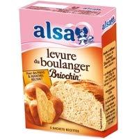 Alsa Levure Boulangere Briochin (x5) 27.5g