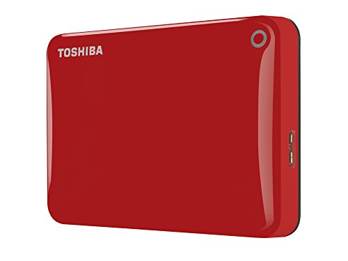 Toshiba Canvio Connect II 2 TB USB external hard disk 30 635 cm 25 blue