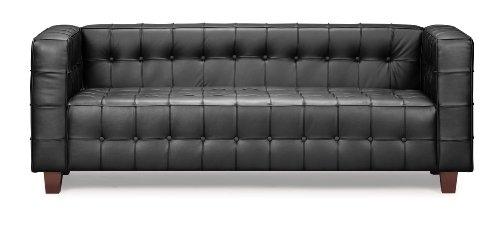 Big Sale Zuo Button Sofa, Black
