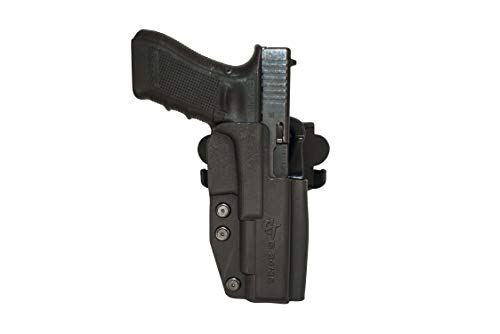 Comp-Tac International Holster - Compatible with Glock 34/35 Gen3,4 - Right Hand - Black