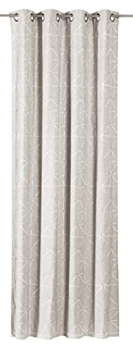 Elbersdrucke Charming Luxury 09 Fertigdekoration, Polyester, Creme, 255 x 140 cm