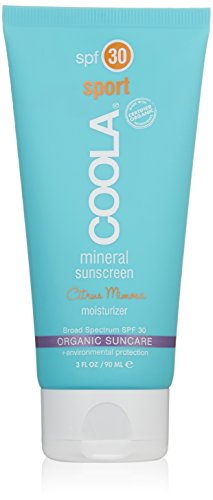 Coola – deporte SPF 30 Cítricos Mimosa Mineral Protector solar humectante