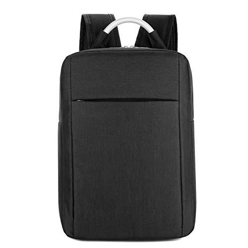 Yaceeng Schoolrugzak voor dames en heren, uniseks, klassieke schoolrugzak, waterdichte rugzak, 14 cm, laptop voor jongeren
