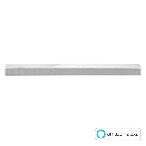Bose - Soundbar700, weiß + Lautsprecher Bass Module 700, weiß, mit Alexa-Integration